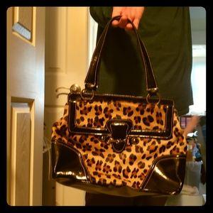 Talbots animal print purse